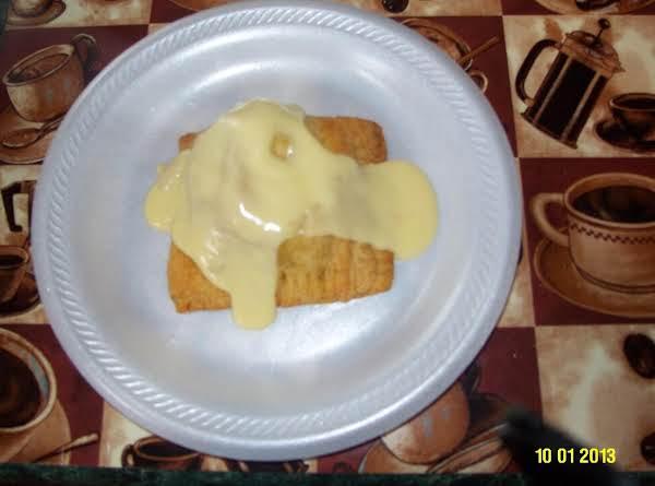 Chicken Pocket With Cream Chicken Soup.