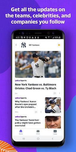Yahoo - News, Mail, Sports 1.19.3 Screenshots 3