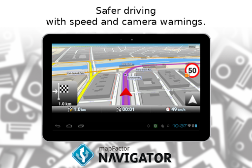 MapFactor GPS Navigation Maps screenshot 13