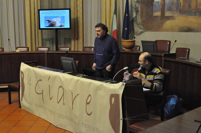 """Il medico veterinario, relatore della serata """"Dall'allevamento alla tavola"""", ALESSANDRO SCOLARI"""