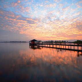 Sunrise at Bukit Merah  by Adi Affendi - Landscapes Sunsets & Sunrises