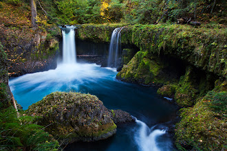 Photo: Spirit Falls, Columbia River Gorge, WA