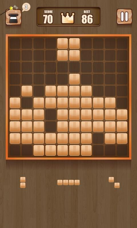 Wooden 100 Block Puzzle APK 2.0.1 screenshots 4