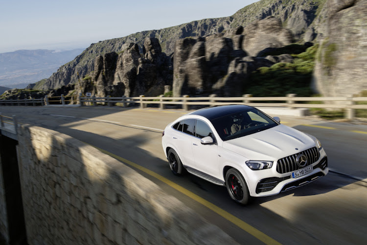 The sleeker GLE 53 4Matic+ Coupé starts at R1,925,000.