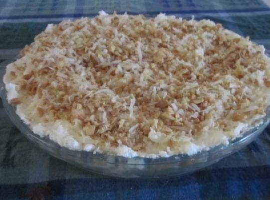 Fresh Tropical Fruit No-bake Pie Recipe