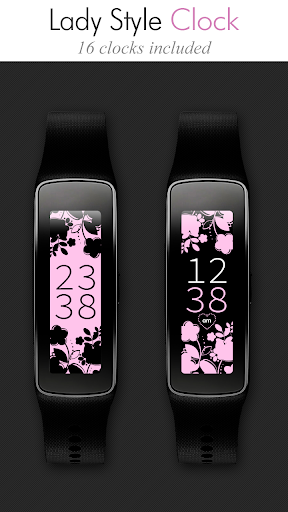 Lady Style Gear Fit Clock