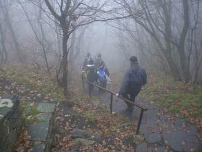 Photo: Apa kezdődik!:)) A Bujdosók lépcsőjénél.
