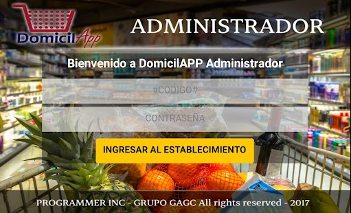 DomicilAPP Admin - náhled