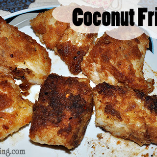 Coconut Fried Fish.
