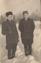 Photo: Grigalauskas Alfonsas ir Žygus Bronius. Nuotrauka iš Adelės Gusčiūtės archyvo