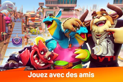 Télécharger Gratuit Monsters With Attitude: Smash & Guerre De Monstres APK MOD (Astuce) screenshots 1