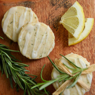 Rosemary Shortbread with Lemon Glaze – Rosemary Contest Winner