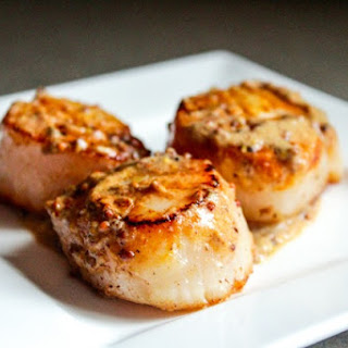 Pan Seared Scallops in a Butter and Cream Sauce Recipe