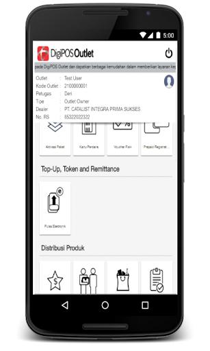 DigiPOS Outlet & Salesforce 1.0 screenshots 4