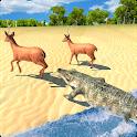 Hungry Crocodile Jungle Attack 2019 icon