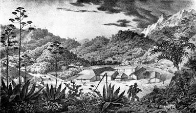 Photo: Fazenda do Córrego Seco, adquirida por D. Pedro I e transformada em povoação por D. Pedro II em 16 de março de 1843. Desenho sem data