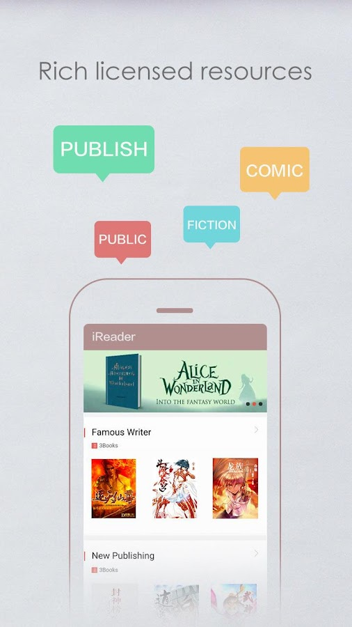 iReader--Novels, Comics, eBook- screenshot