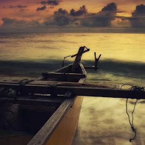 Boat by Rahaditha Bachtiar Hunowu - Digital Art Things