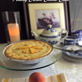 Peachy Cream Cheese Cake