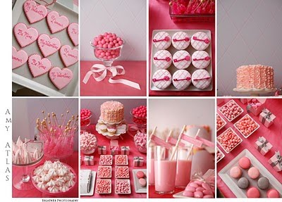 Amy Atlas Valentine's Dessert Tables