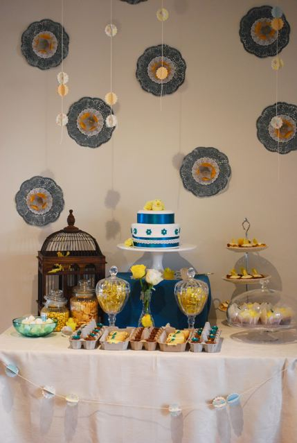 Vintage Chick Dessert Table