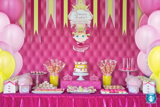 Pretty Pink Princess Party