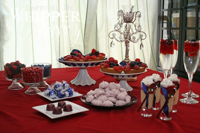 Red & Blue Berry Table