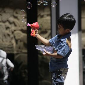 Bubbles by Idham Nurrakhman - Babies & Children Children Candids