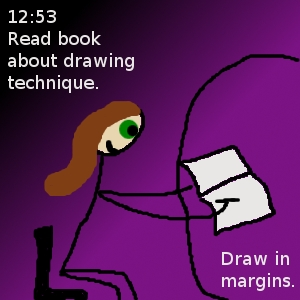read book about drawing technique