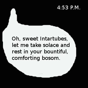 sweet intartubes