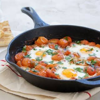 Spicy Tomato Baked Eggs.
