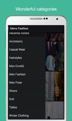android Men Fashion 2016 Screenshot 14