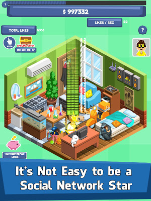Social Network Tycoon - Idle Clicker & Tap Game - screenshot