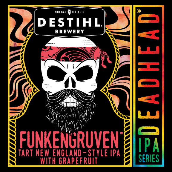 Logo of DESTIHL Deadhead IPA Series: Funkengruven