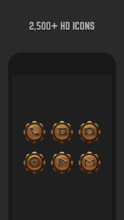 Steampunk Icon Pack- screenshot thumbnail