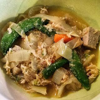 Chicken-Tofu Green Curry.