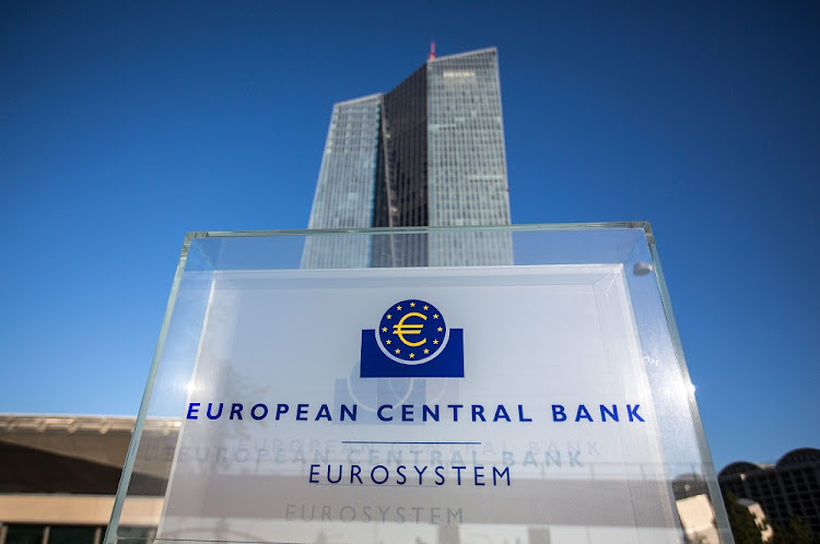 The headquarters of the European Central Bank in Frankfurt, Germany. Picture: EPA