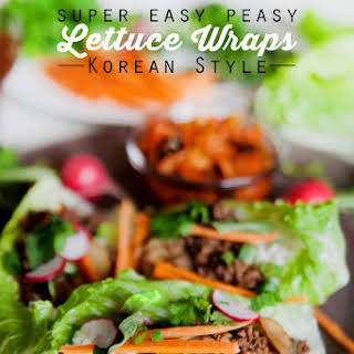 Easy Peasy Lettuce Wraps – Korean Style!.