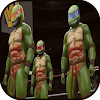 wrestler ninja strong turtle