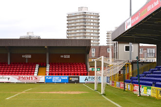 Photo: 13/04/13 v Exeter City (Football League Division 2) 2-2 - contributed by Andy Gallon