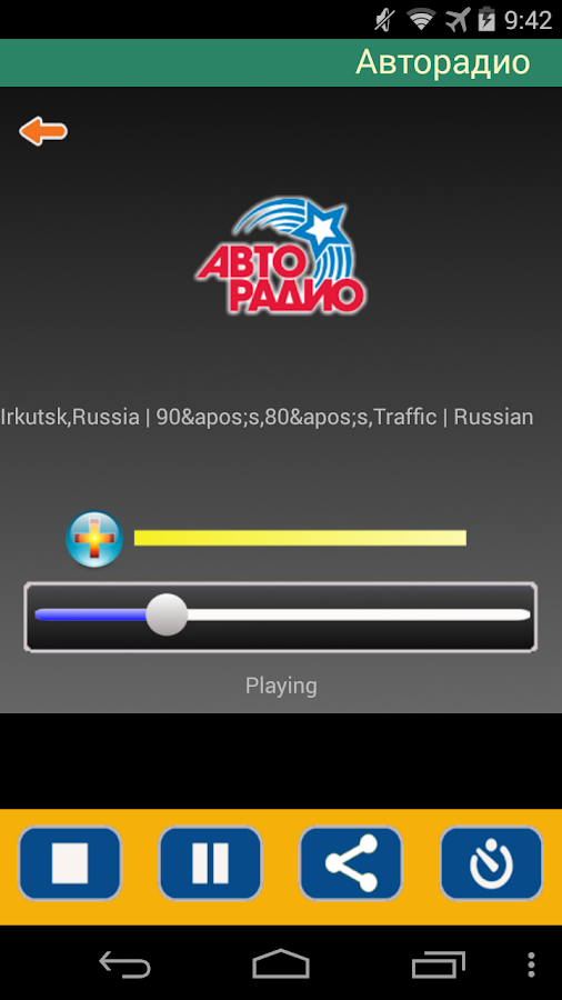 Radio Stations Broadcasting In Russian 117