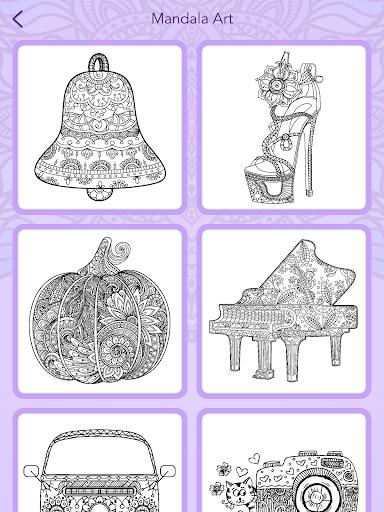 Mandala Coloring Book 3.1.4 screenshots 23