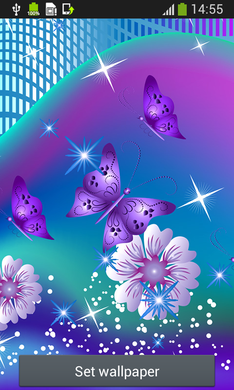 butterfly live wallpapers android apps on google play