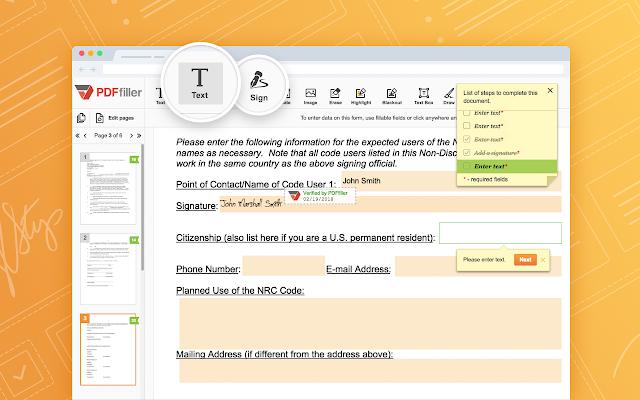 PDFfiller for Google Drive - G Suite Marketplace
