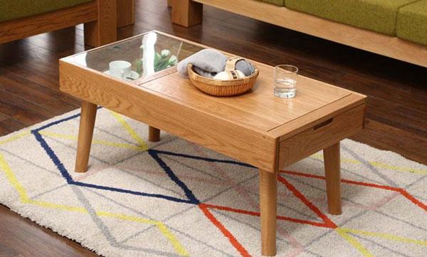 Kiểu dáng bàn trà gỗ công nghiệp hiện đại
