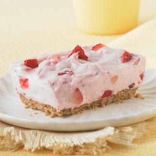 Philadelphia Strawberry Fields No-Bake Cheesecake.