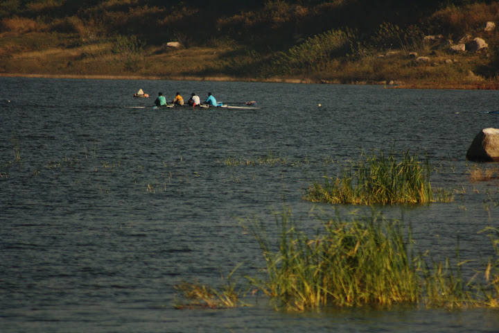 Manchanabele Dam - Boating