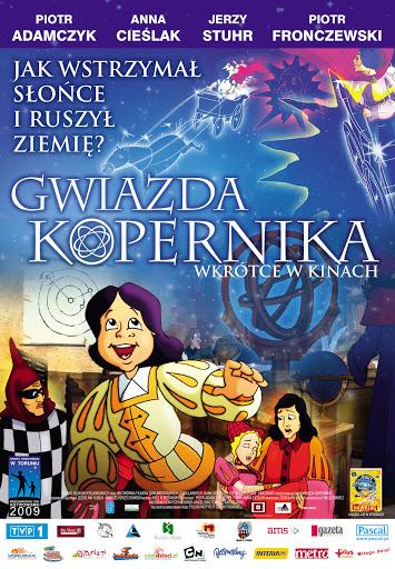 Polski plakat filmu 'Gwiazda Kopernika'