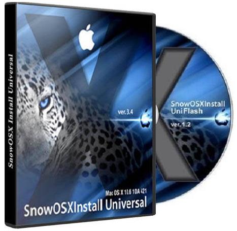 SnowOSX UniFlash 1.2 Snow Leopard 10.6.7 (2011)