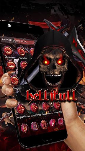 Blood Reaper 3D Skull Theme